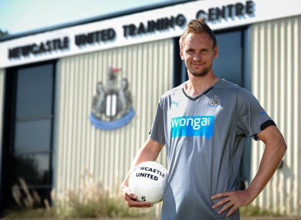 FIT AGAIN: Siem de Jong is in Newcastle's squad to take on Aston Villa