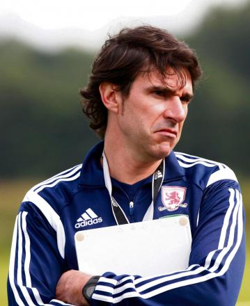 IN THE MARKET: Aitor Karanka hopes to have more new signings before next weekend's season opener against Birmingham City