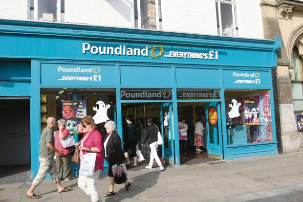 EXPANSION PLANS: Poundland is looking to create 1,000 jobs. Pictured is its branch in High Row, Darlington