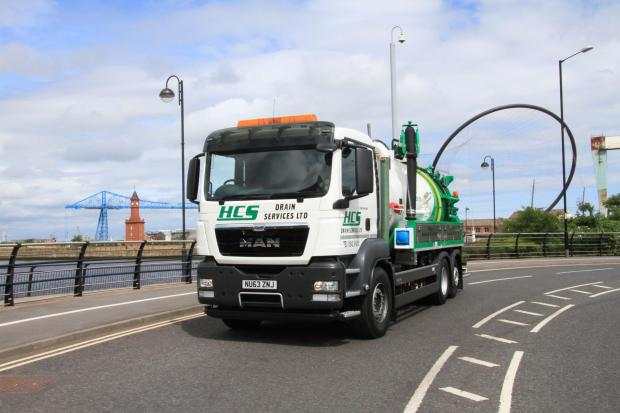 MAJOR INVESTMENT: One of HCS Drain Services' new vehicles, which it will use to target new work