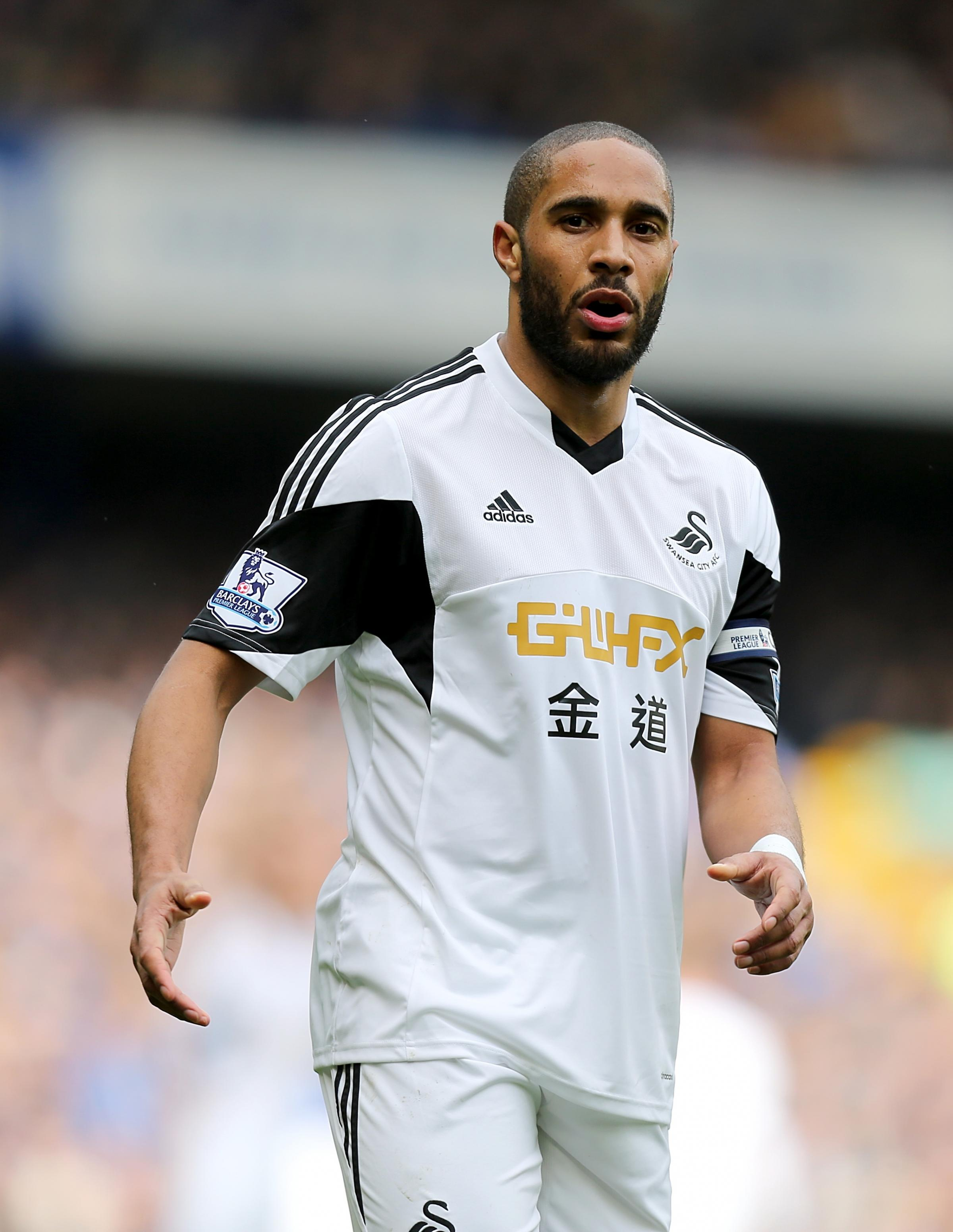 STAYING PUT: Ashley Williams has signed a new four-year deal with Swansea City, ending Sunderland's attempts to take him to the Stadium of Light