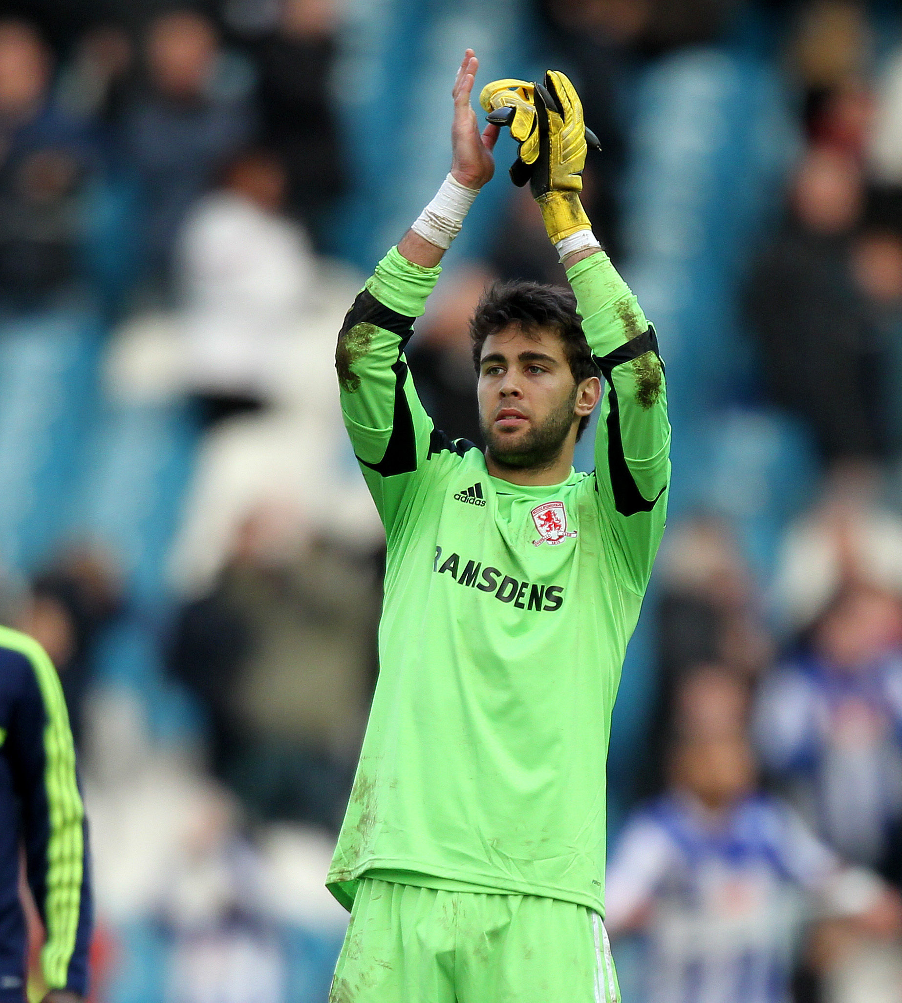 MISTAKES: Tomas Mejias has made errors against both Leeds United and Sheffield Wednesday