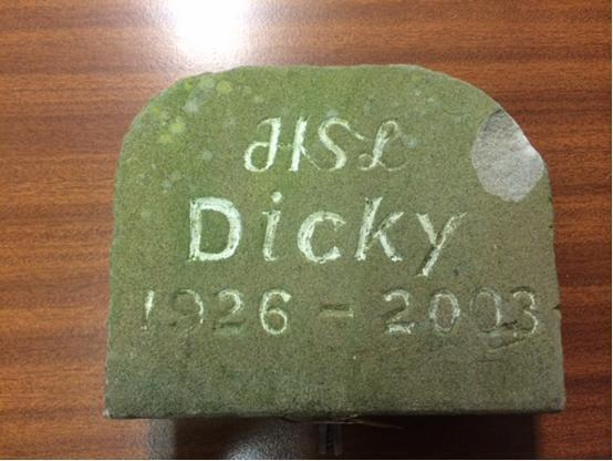 Police trying to trace owner of recovered memorial