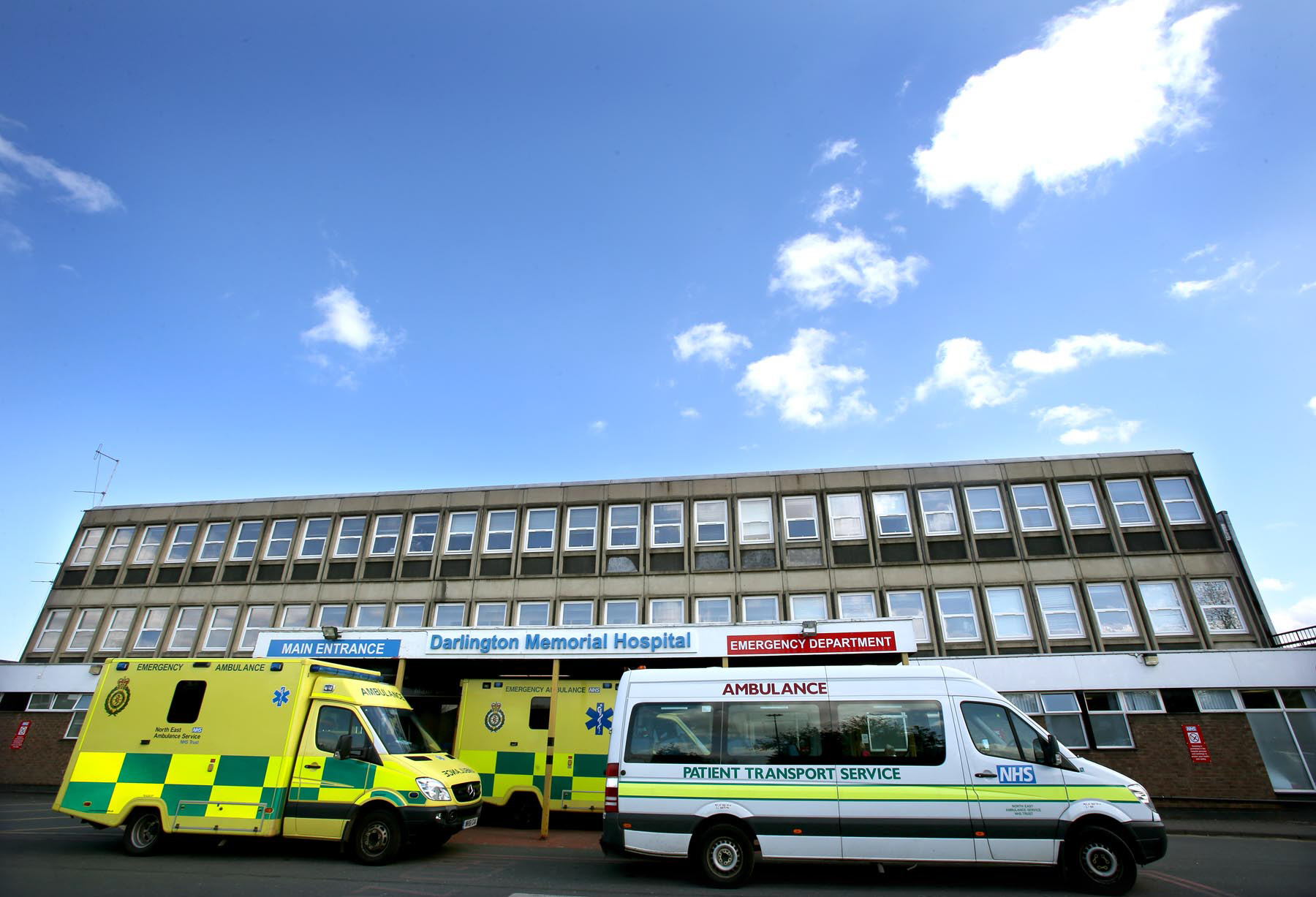 CLOSURE CLAIMS: Darlington Memorial Hospital Accident & Emergency