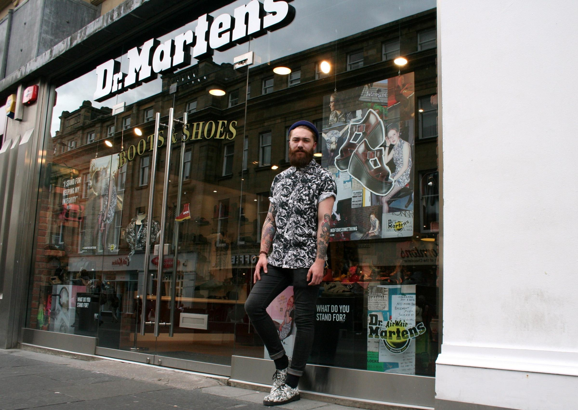 Sam Lowerson, the new face of Dr Martens (7927260)