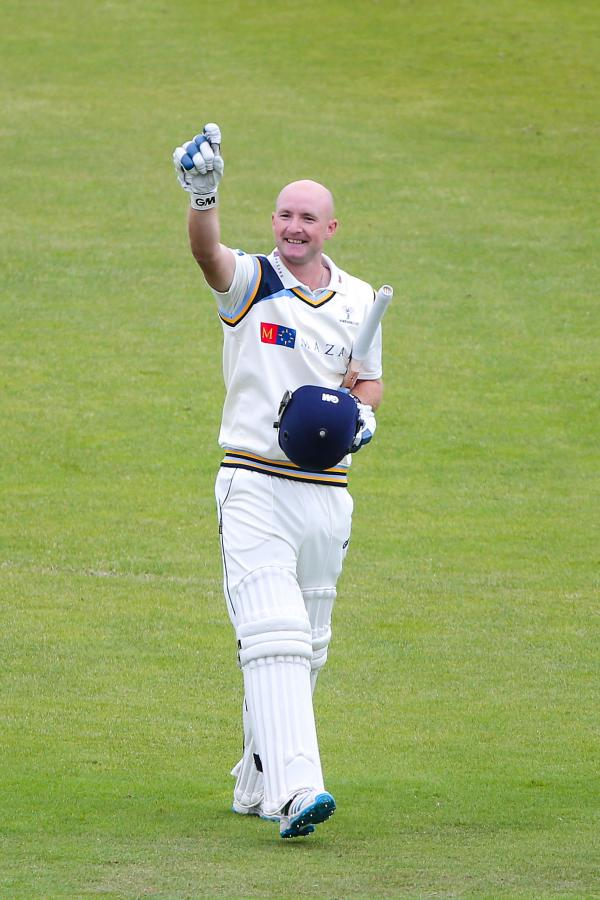 BIG KNOCK: Adam Lyth