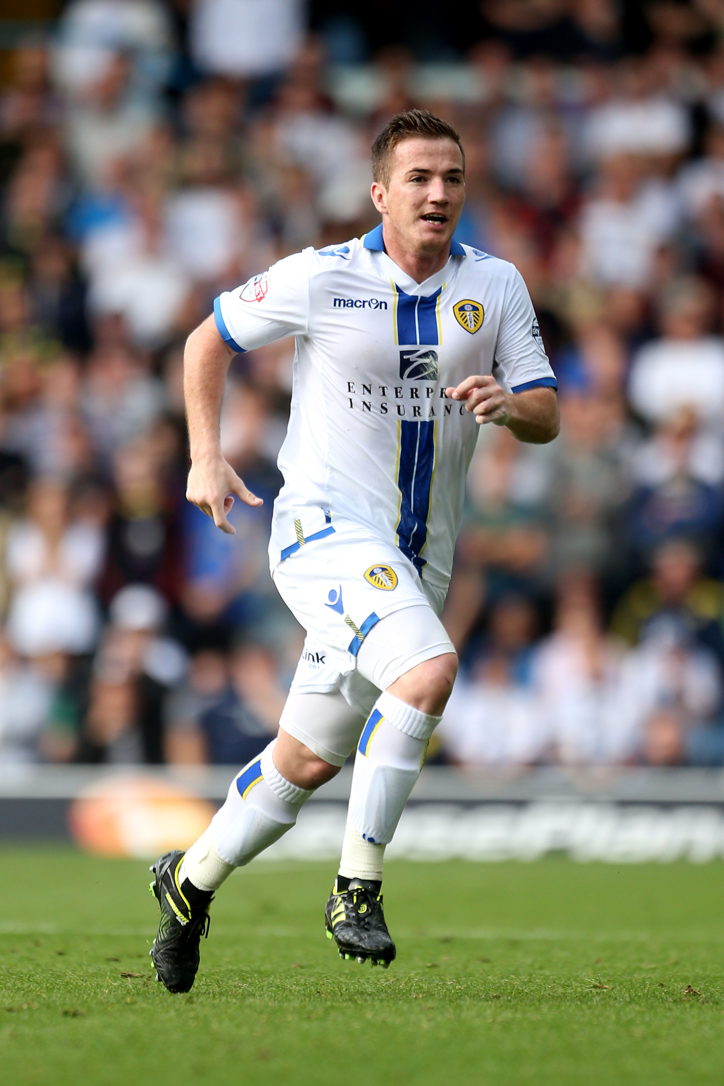BIG-MONEY MOVE: Ross McCormack has completed an £11m move from Leeds United to Fulham