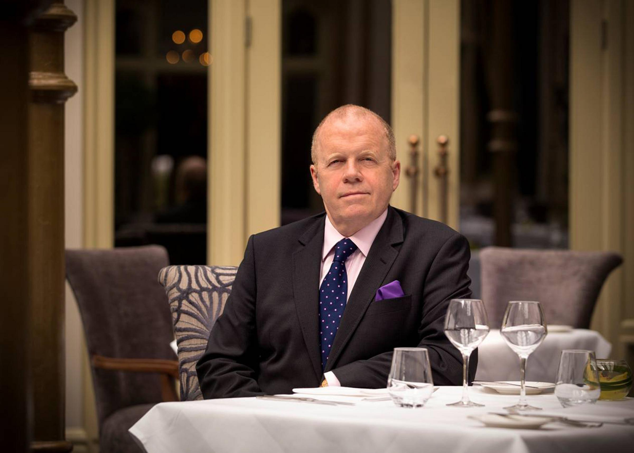 NEW CHALLENGE: Nick Holmes is stepping down from his role as managing director at Rockliffe Hall
