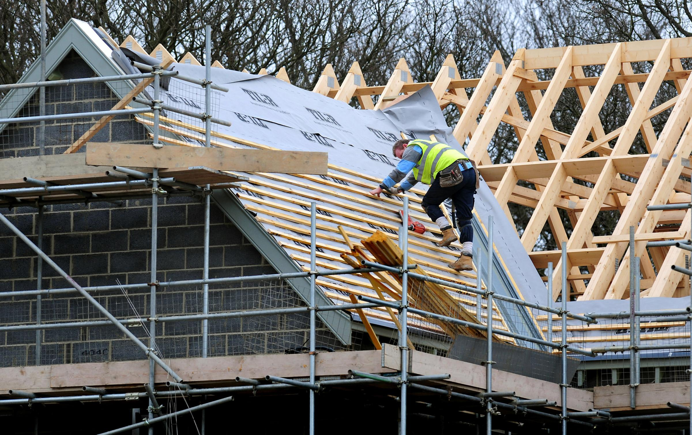 BUILDING AGAIN: New housing is allowing construction firms to create jobs at their fastest pace for nearly 20 years, a report has said