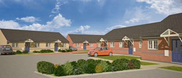 HOMES PLAN: An artist's impression of the homes at Faverdale