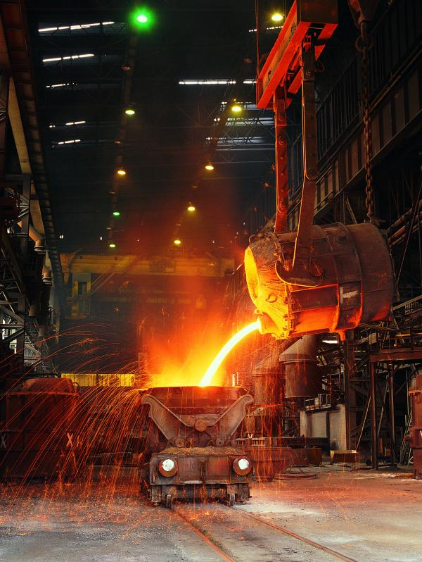 PRODUCTION AIM: SSI UK aims to make three million tonnes of steel slab at Redcar this year