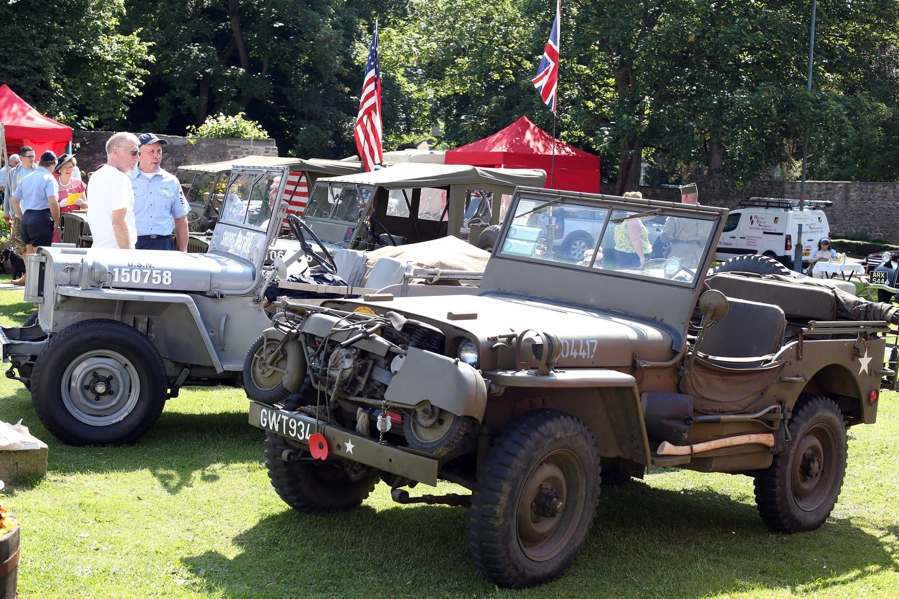 Hundreds enjoy weekend of fun, sport and nostalgia in Sedgefield