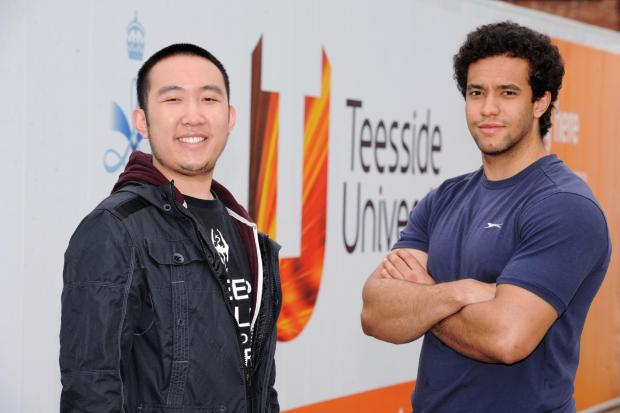 Talented gaming graduates Kai Du (left) and Daniel Harris (right) have won national recognition