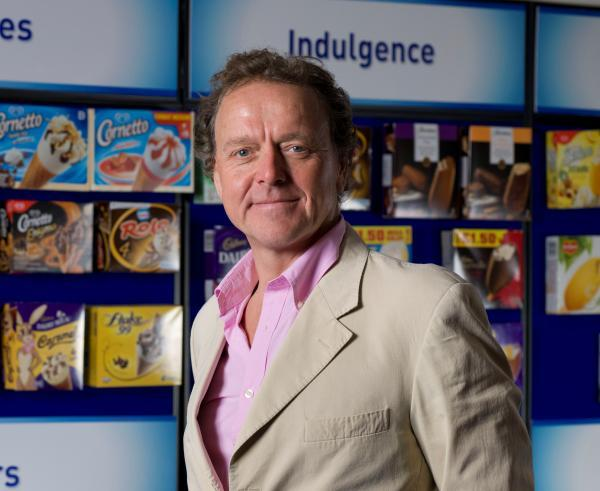 STEPPING DOWN: James Lambert is retiring as non-executive chairman of R&R Ice Cream