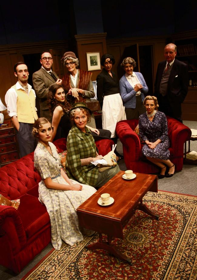 A Murder Is Announced Darlington Civic Theatre The Northern Echo