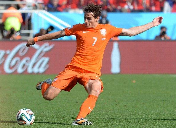 DEAL DONE: Full-back Daryl Janmaat will be confirmed as a Newcastle United player later today