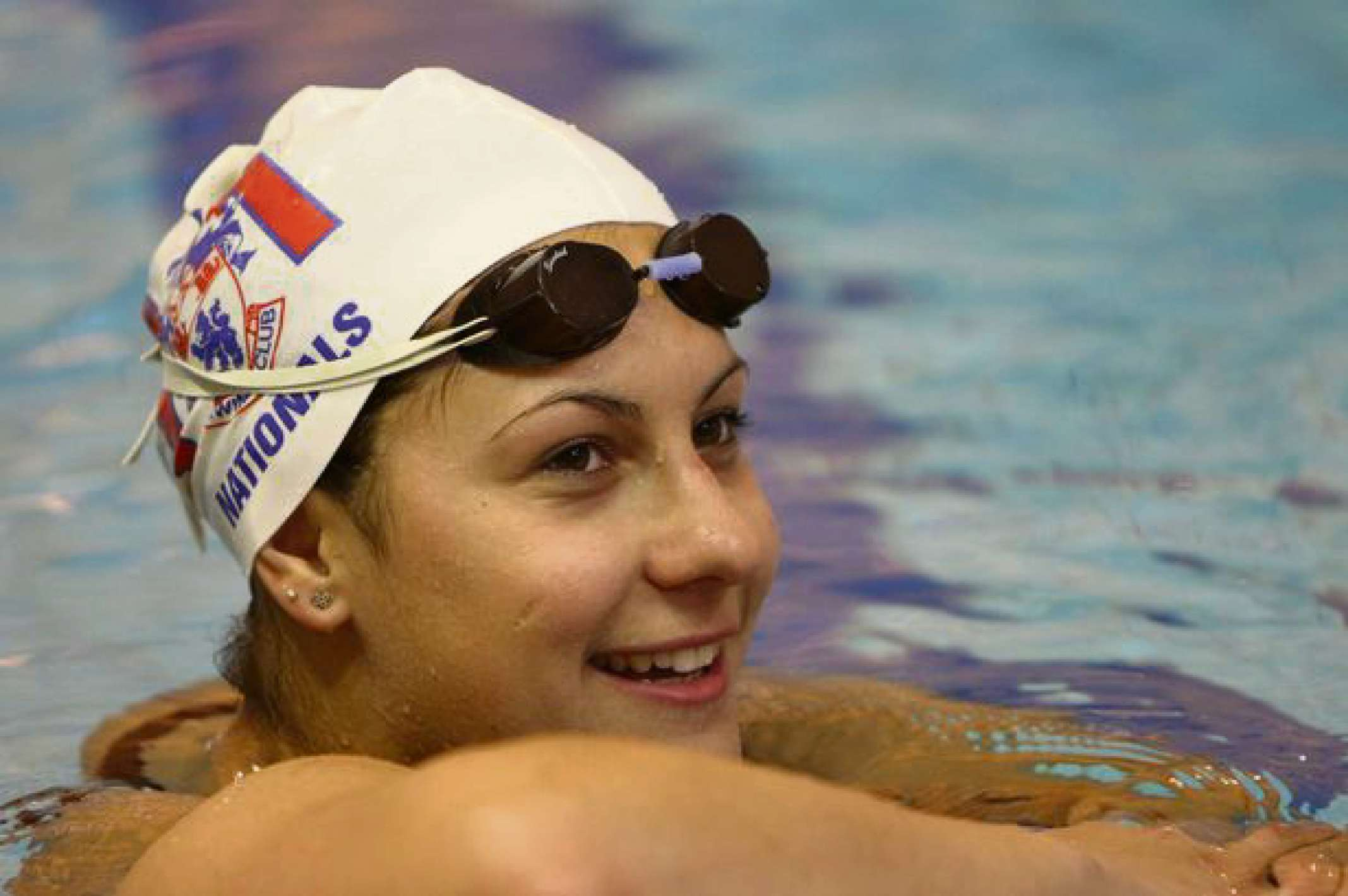 READY TO GO: Aimee Willmott will compete in the heats of the 400 Individual Medley at the Commonwealth Games tomorrow morning