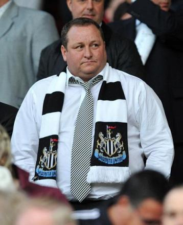 GLASGOW RANGER? Mike Ashley