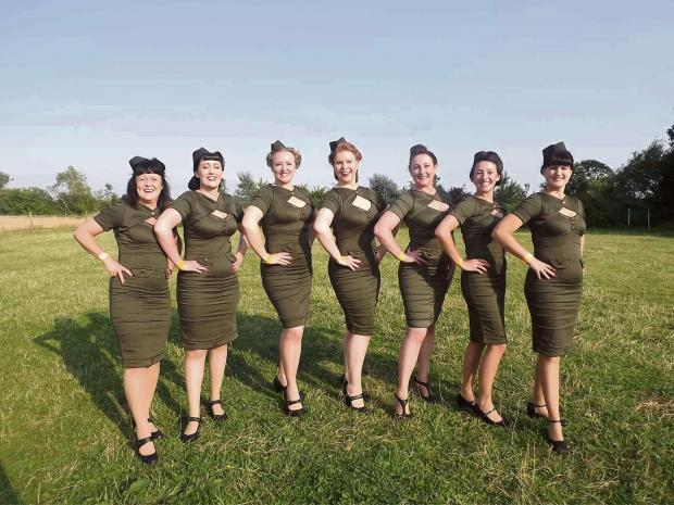 LIVE DATE: The Vintage Belles will be among the acts to perform at Music Through the Decades, in Hurworth, on Saturday