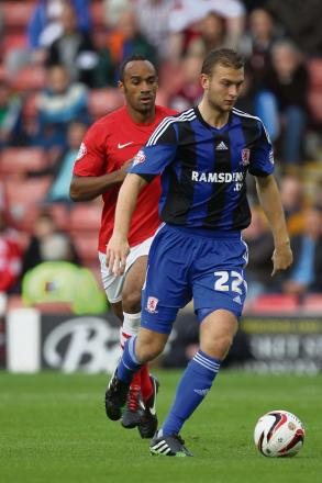 YOUNG LION: Ben Gibson hopes a successful season at Middlesbrough can boost his in
