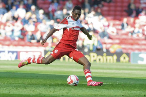 COMING BACK: Kenneth Omeruo has announced he is rejoining Middlesbrough next season