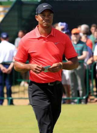 CUP HOPES: Tiger Woods
