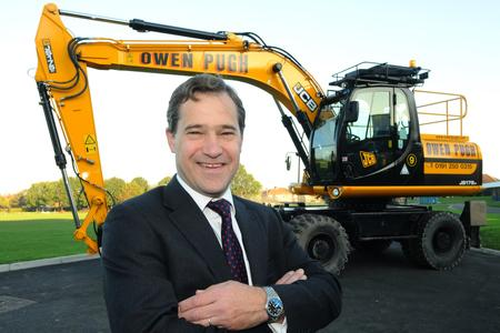 SECTOR WARNING: John Dickson, chairman of the Owen Pugh Group