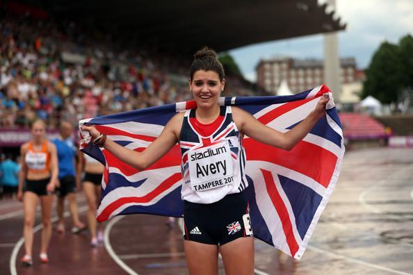 GLASGOW BOUND: Kate Avery will compete in the 10,000m after receiving a late call-up to the England squad for the Commonwealth Games