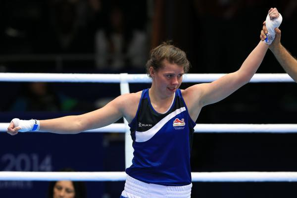 WINNING START: Hartlepool's Savannah Marshall made a winning start to her middleweight campaign at the Commonwealth Games