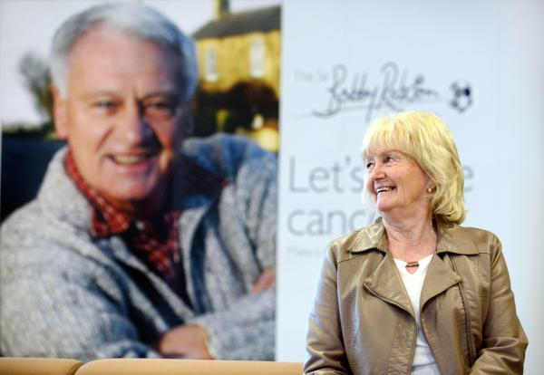 PROUD: Lady Elsie Robson who has continued her husband's work since his death in 2009