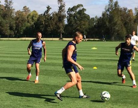 Sunderland squad put through their paces in Algarve