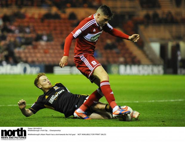 FIRST TEAM PLANS: Adam Reach has targeted a regular spot in Aitor Karanka's team this season