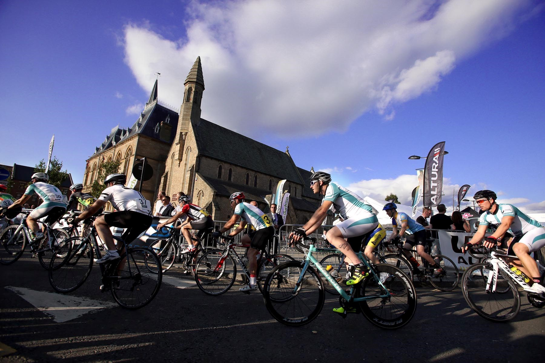 Bishop Auckland cycling event hailed a success
