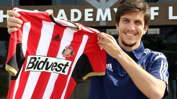 WELCOME BACK: Santiago Vergini has rejoined Sunderland on a season-long loan (Picture: safc.com)