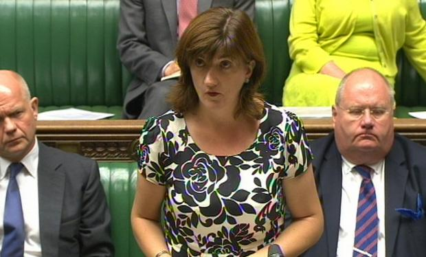 Nicky Morgan, the Women and Equalities Minister