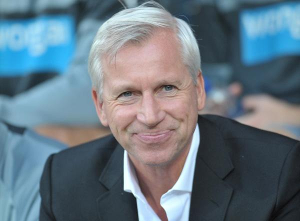 SQUAD STRENGTHENING: Newcastle United manager Alan Pardew, pictured during the friendly at Huddersfield Town this week, has been on a spending spree this summer, bringing in nine players. Picture: GRAHAM CROWTHER/FOCUS IMAGES LTD