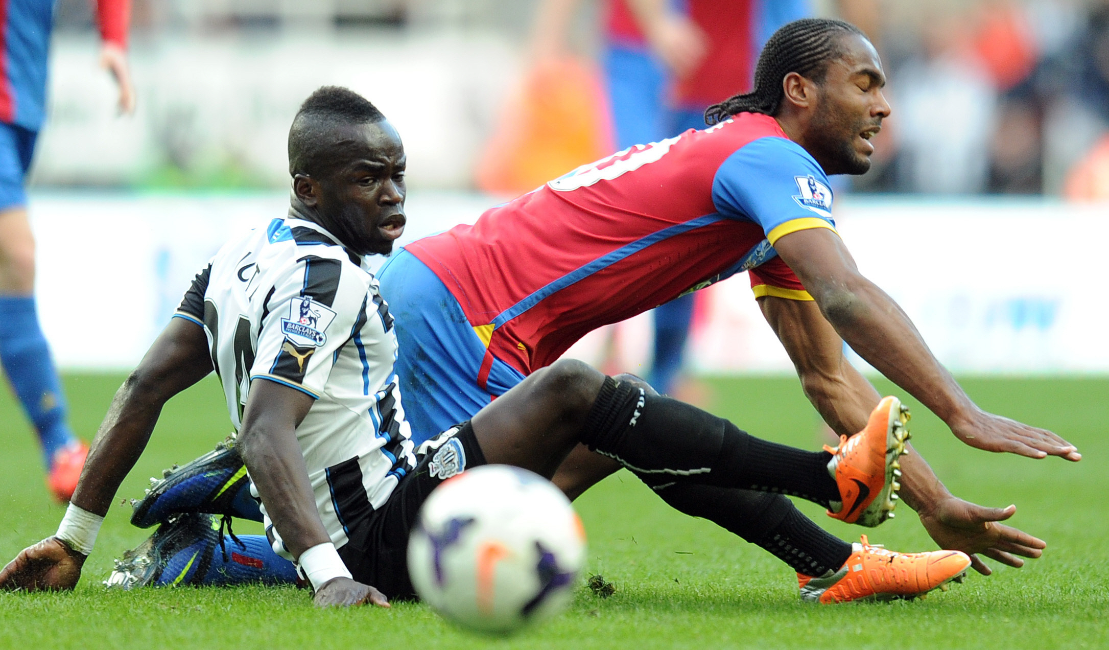 WANTED: Arsenal are understood to be interested in Newcastle midfielder Cheick Tiote