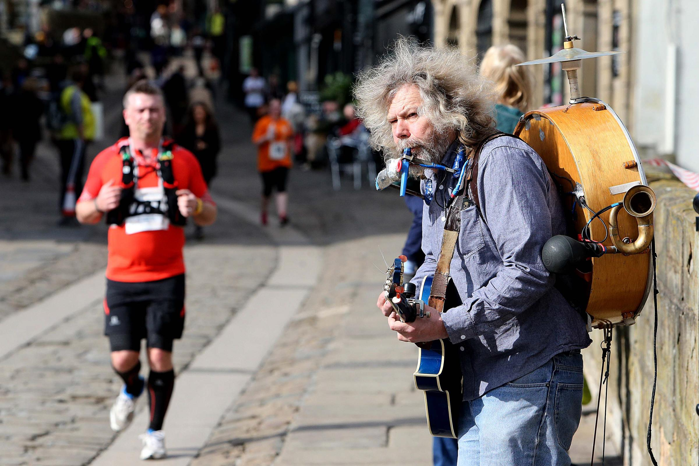 Busker turf wars ruining Durham say critics as rival musicians turn up volume to drown out o