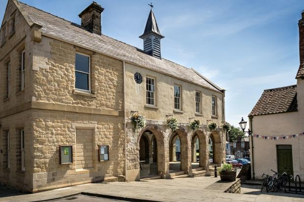 BUSINESS OPPORTIUNITY: The restored Malton Town Hall.