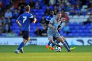 GETTING THERE: Siem de Jong played 45 minutes of a behind-closed-doors friendly with Carlisle United