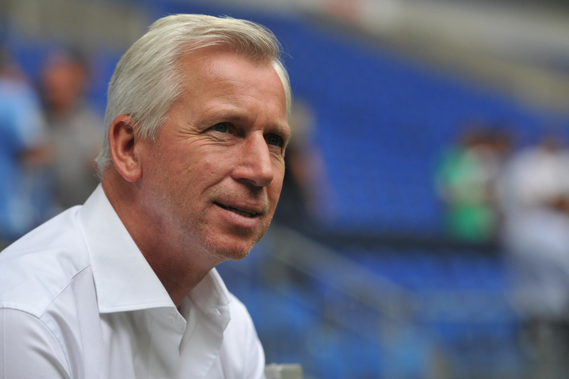 STRIKER SEARCH: Newcastle boss Alan Pardew continues to look for a new centre-forward