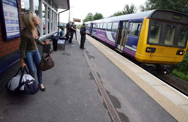 SHORTLIST ANNOUNCED: A Northern Rail train pulls into Thornaby station.