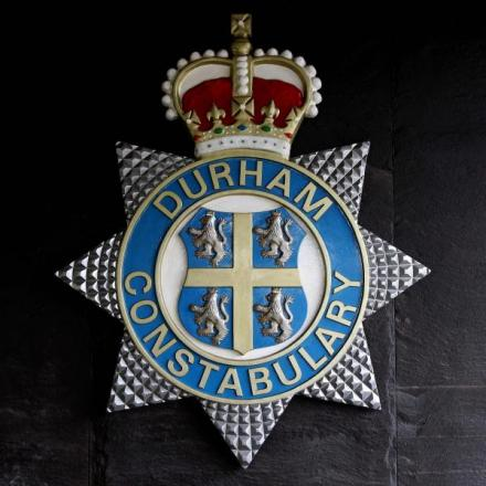 Police hunt Durham bridge flasher