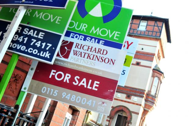 House asking prices County Durham and Teesside have among the furthest distance still to recover, according to a property website.