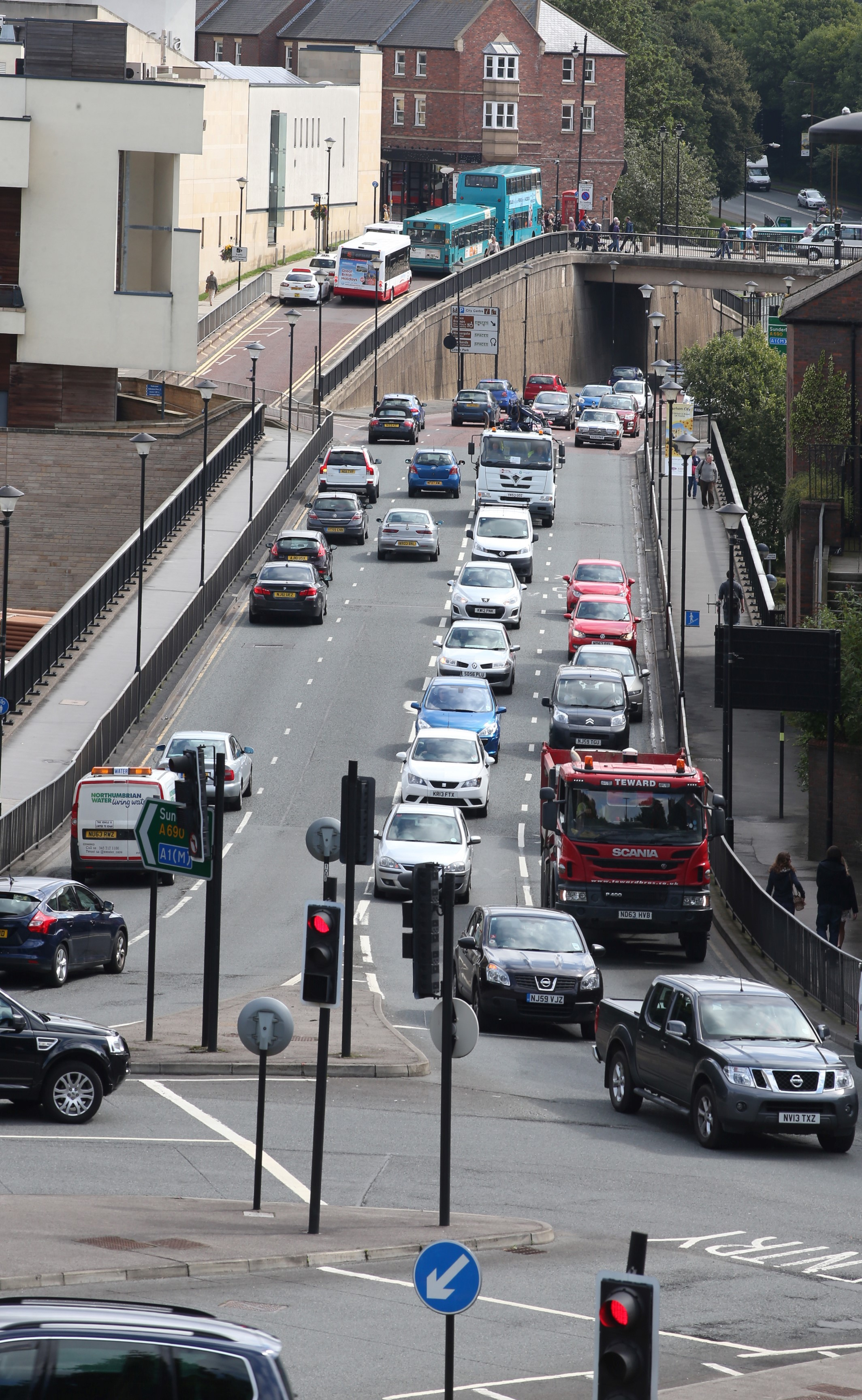 Roads shake-up to tackle city's pollution