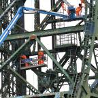 The Northern Echo: MAJOR REPAIRS: Work is underway on a major facelift for Newport Bridge