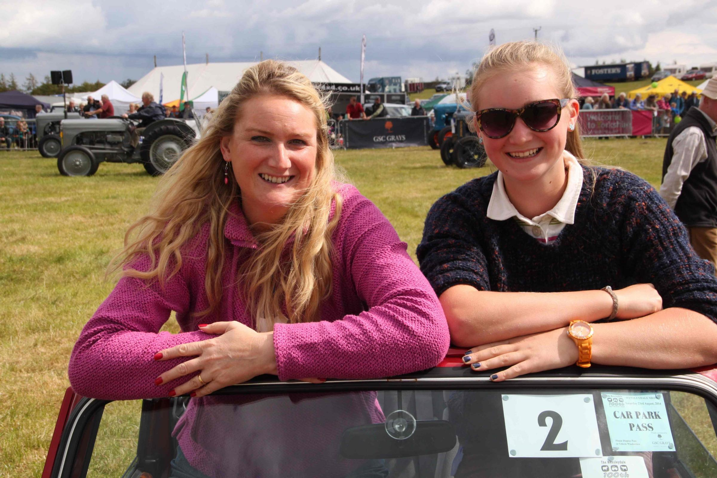 Drama unfolds in main ring at 100th Wensleydale Show
