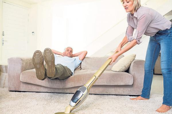 Clever or lazy: Men are hopeless are housework – or do they choose to be seen as such?