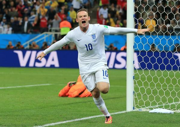 LEADING BY EXAMPLE: Wayne Rooney is England's new captain