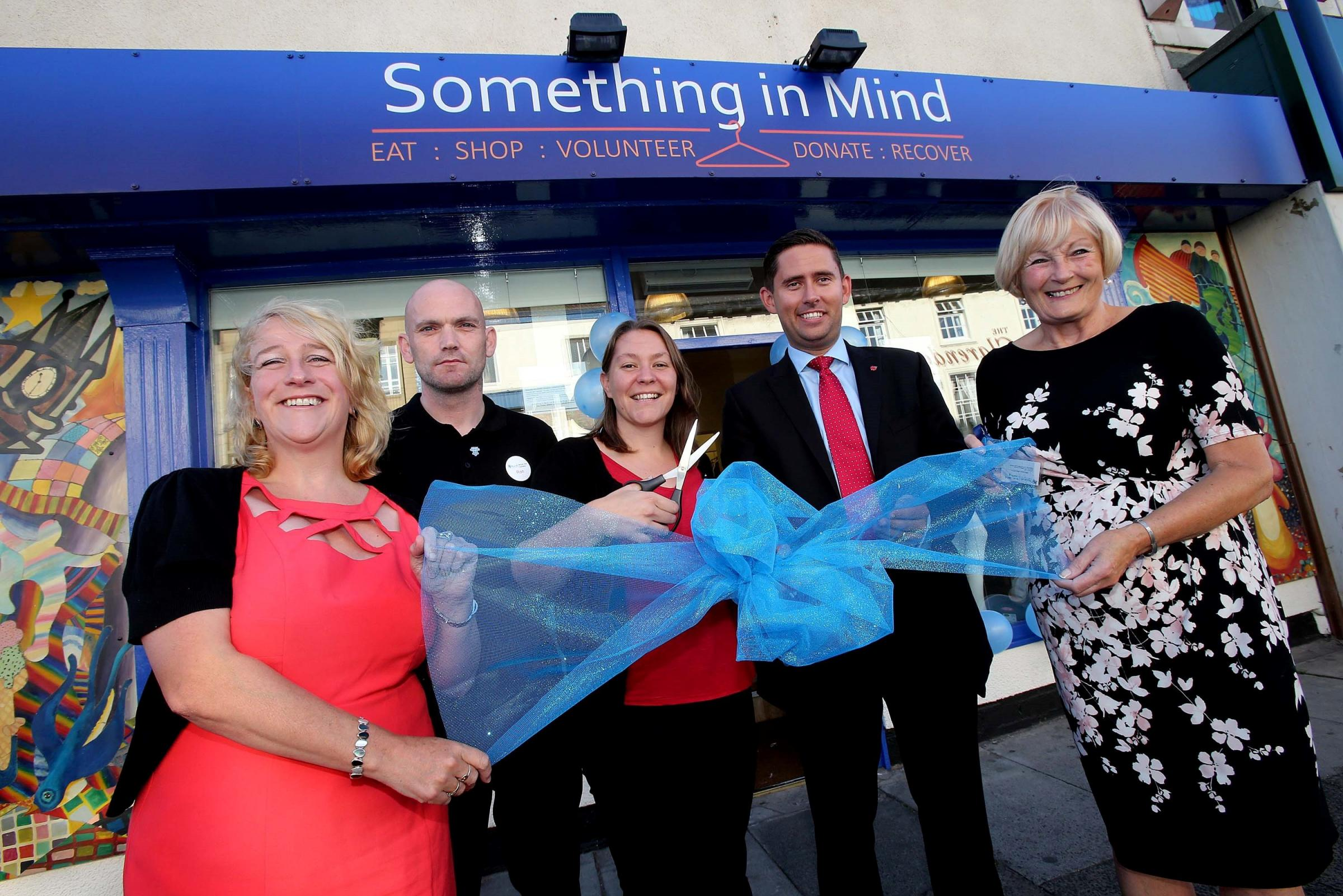 Charity opens new store with 'Something In Mind' for everyone